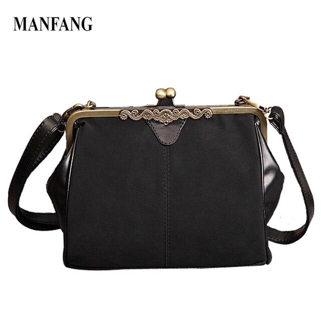 2016 Women Retro Vintage Packages Matte Handbags Lady's Messenger Bags Women's Shoulder Bags
