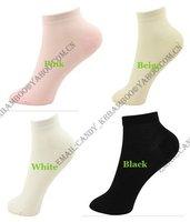 бесплатная доставка бамбуковое волокно женские носки тапочки потовые-абсорбент / антибактериальное дышать свободно качество товаров