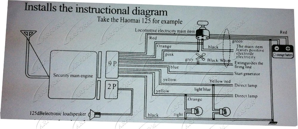 Chinese Motorcycle Alarm Wiring Diagram - Schematics Wiring Diagrams •
