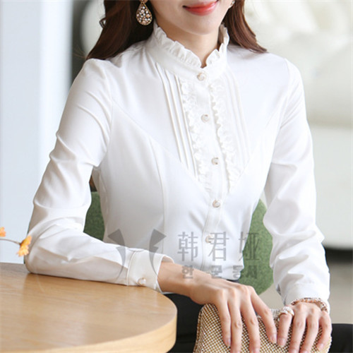 Casual white shirts for women
