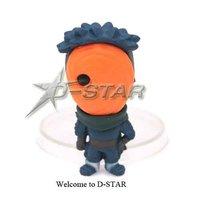 бесплатная доставка 3 комплекта наруто битва саске одноцветное и gashapon мини пвх фигурку коллекция модель игрушка в подарок