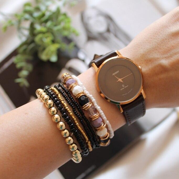 Набор из семи стильных браслетов на Алиэкспресс