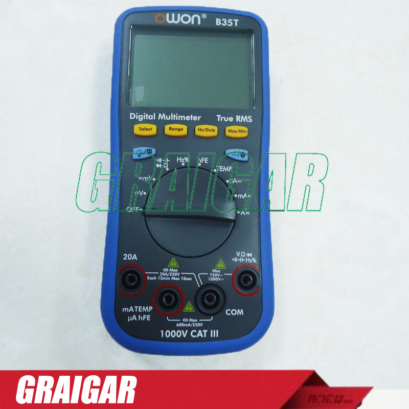 OWON B35T Multimeter Digital T RMS Multimeter Bluetooth font b Android b font Apple Datalogger DMM