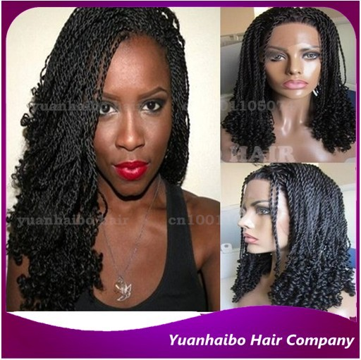 Hot Product Synthetic Hair Black Color Short Senegalese Twist