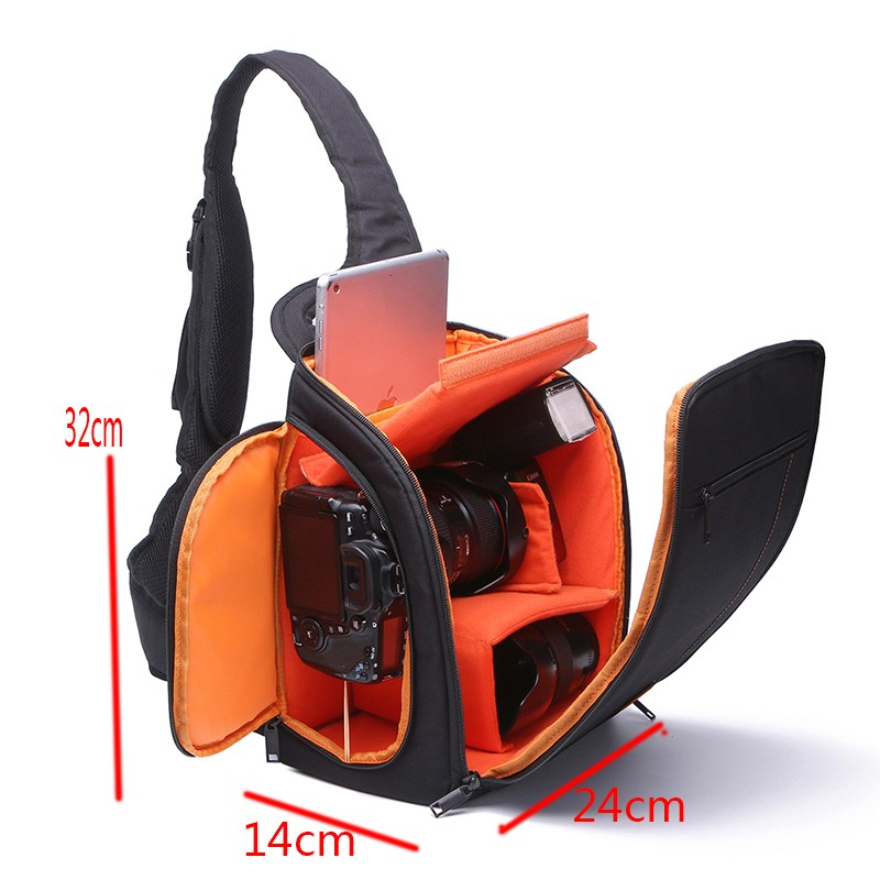 Waterproof Nylon Camera font b Bag b font Digital Video Photo Camera Shoulder font b bag