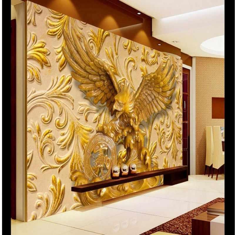 Beibehang מותאם אישית 3d טפט בית תפאורה 3D סלון חדר שינה הקלה נשר רקע קיר טפט לקירות 3 d