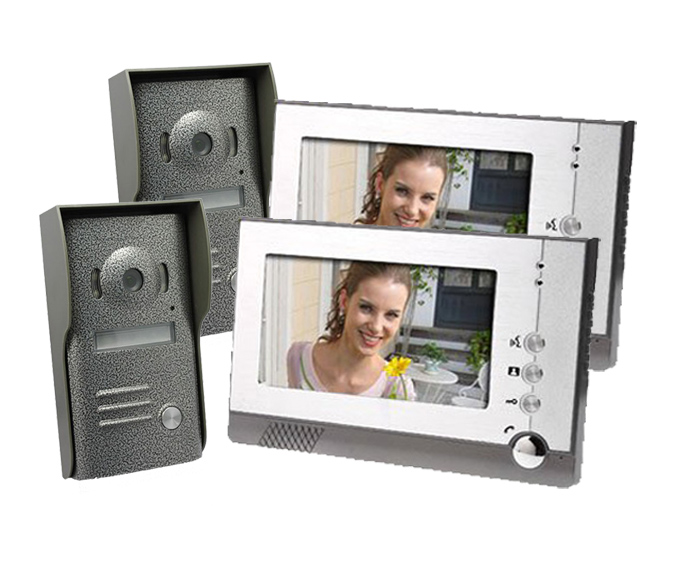 Yobang Security Yobang Security 7 Inch Intercom System with IR Night Vision for Villa Home Without