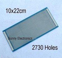 10x22 см одной стороне печатной платы прототип панели универсальный платы из FR-4 стекловолокна бесплатная доставка