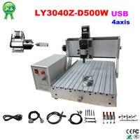 Russia No Tax Mini USB Port Mini Cnc Engraver 4 Axis Mach3 Cnc Mini Millinging Machine