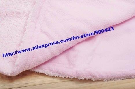 1 шт. зимние детские ползунки, детский комбинезон, детская шаль, детская теплая одежда, 2 слоя ткани-розовый