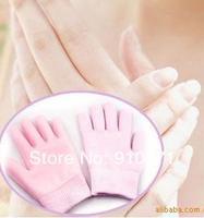 новое мягкие спа гель перчатки для красивые руки / увлажняющий лечение гель спа перчатки розовый