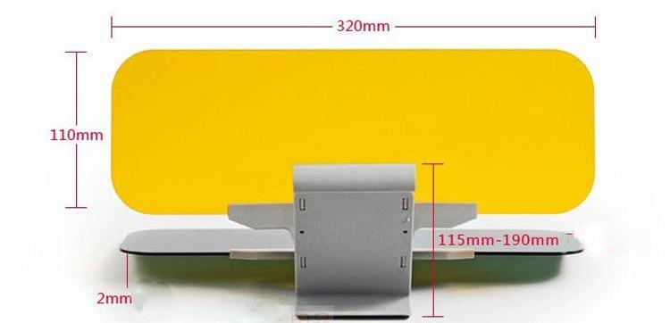 Car Sunshade size