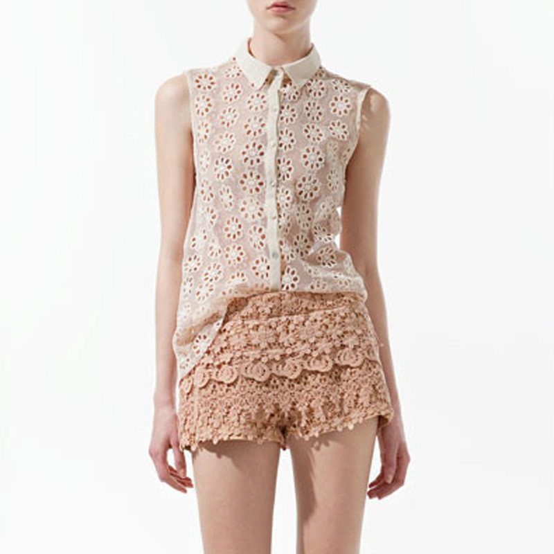 оптовая продажа, мода Европа большие Carmen с длинным рукавом блузка лето, солнцезащитный крем смотрите-бесплатной сквозь женщины 113
