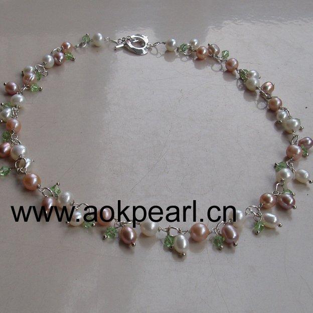 Aliexpresscom Buy Freshwater pearl DIY bridal jewelry bridal