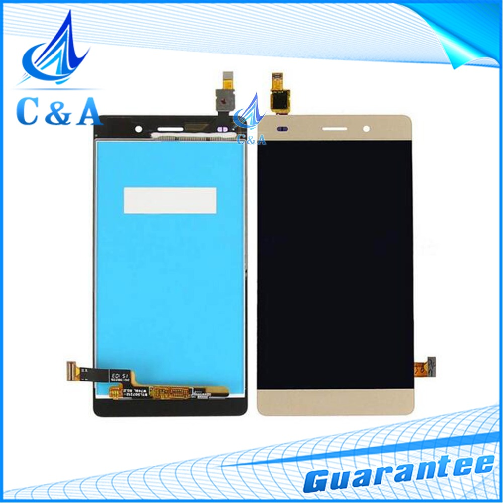 10 pcs DHL/EMS post tested new replacement parts 5'' screen for Huawei Ascend P8 Lite Lcd Display with Touch Digitizer assembly mundorf mkp mcap supreme silver gold oil 1000 vdc 4 7 uf