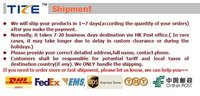 новый продукт! в красочные следы серии из светодиодов ошейник TZ по-pet3500 мигающий ошейник. минимальный заказ 5 шт. бесплатная доставка