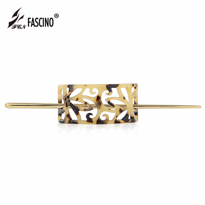 2017 New Fashion Hair Jewelry Accessories Luxury Acetate Vintage Hair Stick Multicolor Hair Stick For Women Girls Tiara CY860016 jadite chinese painting ink hair stick original vintage handmade classical hanfu hair accessory hair stick antique copper stick
