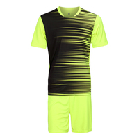 Short Sleeve Mens Football Jerseys Paintless Training Soccer Jersey Sets Breathable Sports Wear Kits Maillot De