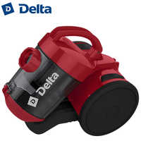 DL-0829 Vacuum cleaner hoover 1600W Removable cleanable HEPA-filter Low noise level Multilevel filtering system DELTA