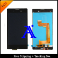 Free Shipping + Tracking No. 100% tested original For Sony Xperia M4 Aqua LCD Screen Display Assembly - White/Black
