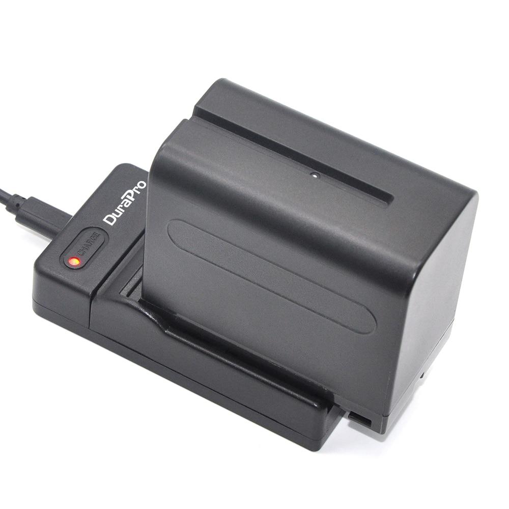 Durapro 2pcs 7200mAh 7.2V NP-F960 NP-F970 NP F960 NP F970 Battery + USB Charger for Sony NP-F550 NP F770 F750 F960 F970 аккумулятор зарядное устройство np f550 fr sony np fm50 np f570 np f750 np f960 npf770 f970 dteg
