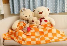 Super Soft And Warm Coral Fleece Velvet Blanket Bed Sheet Plaid Blanket Throw Bedding Blanket Twin