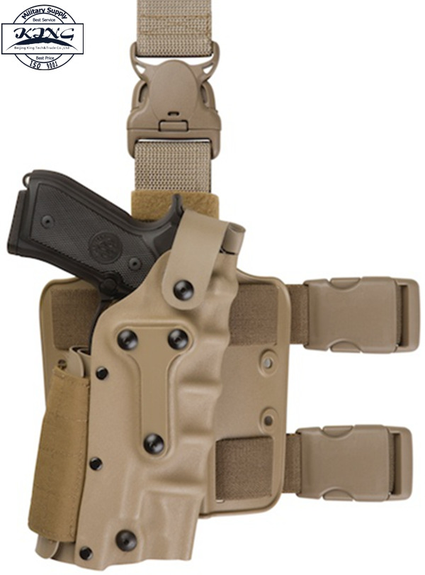 US $22 96 30% OFF  Adjustable Tactical holster Leg Platform Military Army  Combat Leg Holster For GL 17,1911,M92 M9,P226, USP-in Holsters from Sports  &