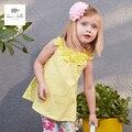DB3396 dave bella bebê menina do verão vestido de princesa do bebê vestido bonito do aniversário dos miúdos roupas vestido