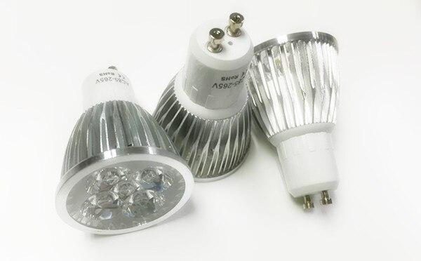 100PCS gu10 e27 gu5.3 MR16 5W 5*1W LED Sport light lamp led bulb warm cold white High Power LED Lamp spot lighting 110V 220V