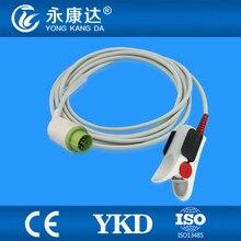 Kontron 7138,7840,7845 Adult Finger Clip Spo2 Sensor,Free Shipping