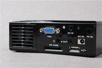 новый портативный проектор - вга - а . в . - УСБ - СД - телевизор + бесплатная доставка