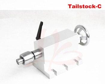 CNC Tailstock y eje rotativo, un eje, cuarto eje, fresadora grabadora de  enrutador CNC