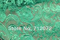 ткань дри горячей зеленый популярной 90 см вышивка полый зеленые водорастворимые ткани шнурка handmadegarment ткани