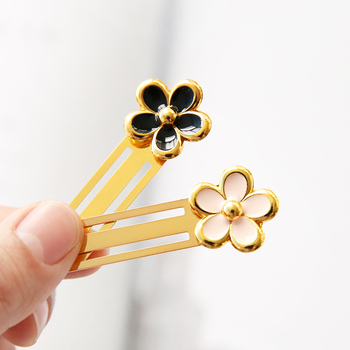 Small Daisy Planner Clips, Bookmark Pin Clips фото