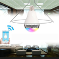 Wireless 12W Phone Control Colorful Music LED Light Bulb Bluetooth Speaker  Portable Music Smart Bulb