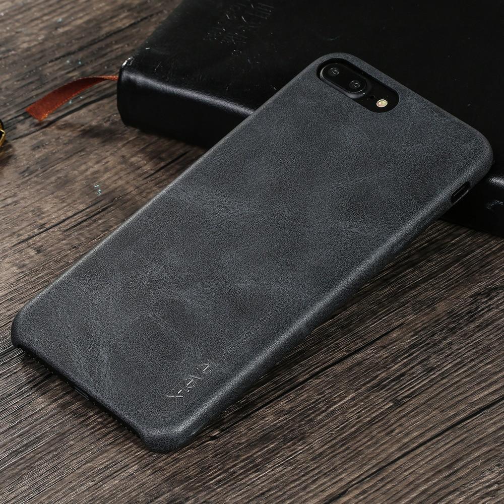 X-Level für iPhone 7 Hülle Zubehör Luxusmarke Retro Leder TPU - Handy-Zubehör und Ersatzteile - Foto 4