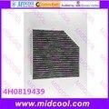 O envio gratuito de alta qulality filtro de ar filtro de cabine não - tecido tecidos 4H0 819 439 4H0819439