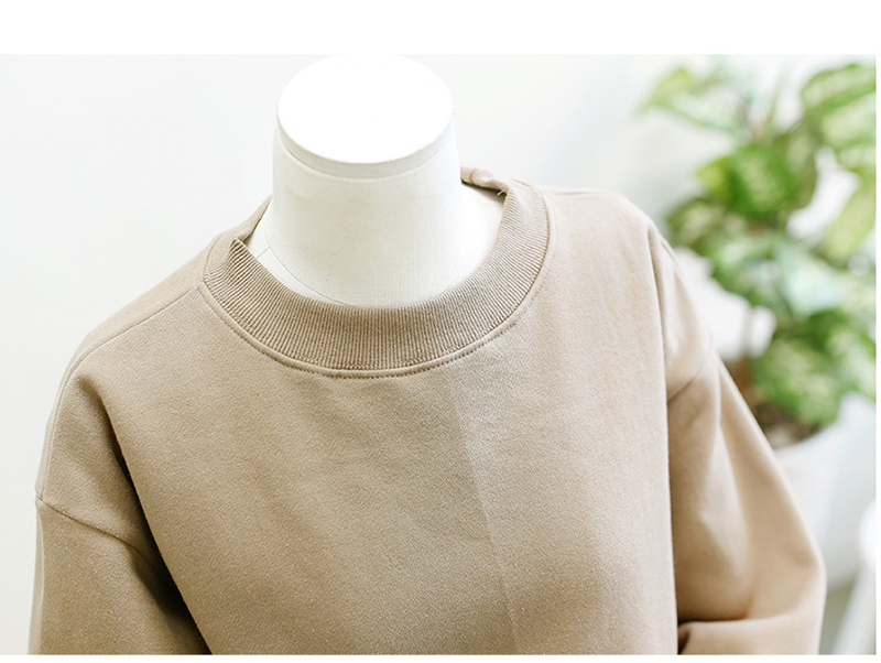 Aescondo New 2017 Spring Fashion Tie Sleeves Oversized Sweatshirt Woman European Bowknot Sleeved Loose Sweat Suits