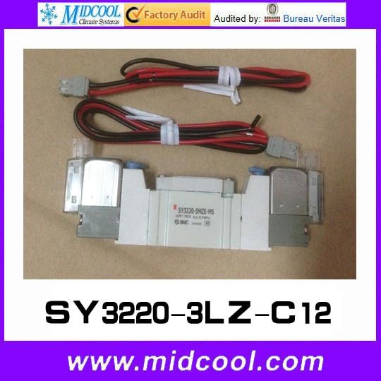 5 way pilot solenoid valve SY3220-3LZ-C12 цена