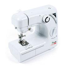 Швейная машина VLK Napoli 2400 (Работа от сети, подсветка, ножной привод, 19 видов строчки, в том числе обработка петли для пуговицы, Автоматическая намотка нити, Регулируемая скорость шитья, Регулируемое натяжение ни