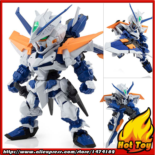 Original BANDAI NXEDGE STYLE [MS UNIT] Action Figure - Gundam Astray Blue Frame Second L from Mobile Suit Gundam SEED Astray ohs bandai mg 179 1 100 sengoku astray gundam mobile suit assembly model kits