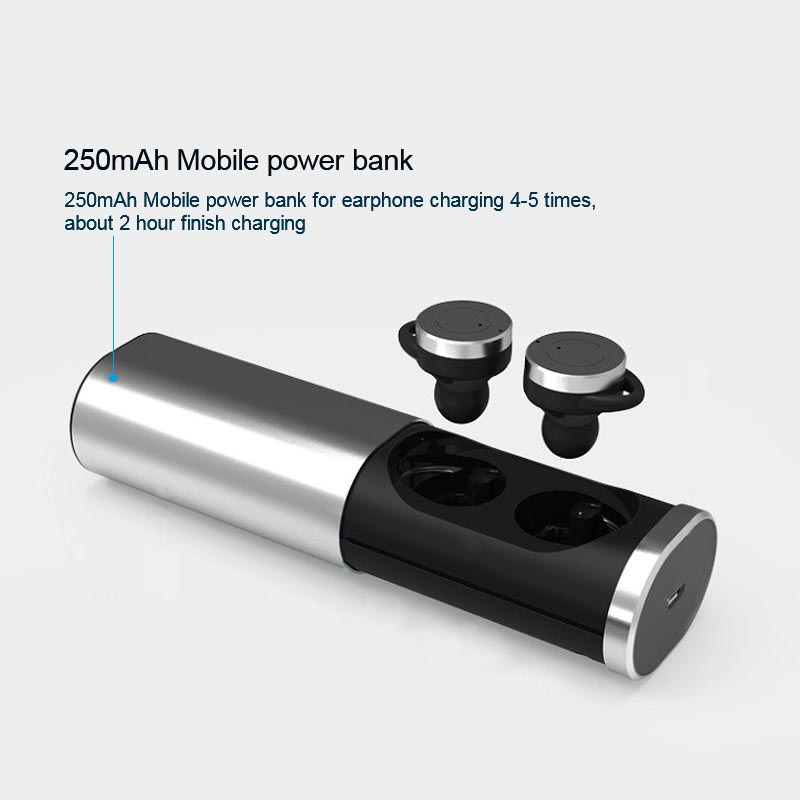 B1 Mini Twins True Wireless Bluetooth Earphone Bluetooth 4.1 TWS bluetooth Handsfree headset with Charging Box Dock Earbuds