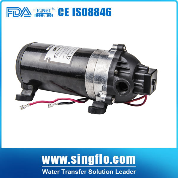 High pressure water pump for carpet washing system Singflo 12V DP 160 160psi