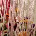 Chic Beaded Curtain Crystal Divider Decorative String Door Window Room Panel