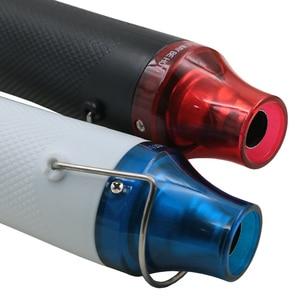 Image 2 - DIY tool heat gun 1pc 220V DIY Using Heat Gun Electric Power Tool Hot Air 300W Temperature Gun with Supporting Seat Shrink