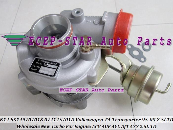 Турбо патрон КЗПЧ K14 7018 53149887018 53149707018 074145701A турбонагнетатель для автомобилей Фольксваген T4 транспортер ACV AUF AYC AJT Айн 2.5L TDI
