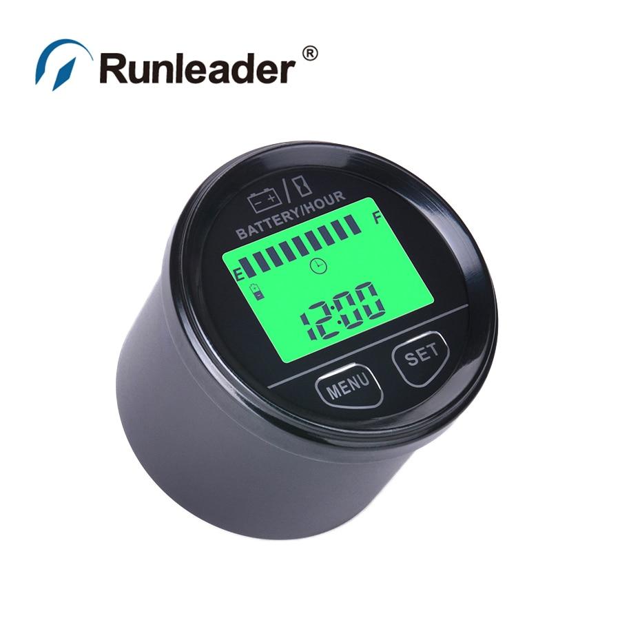 Digital Battery Meter : Digital battery gauge volt meter indicator with
