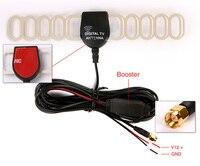 5 м цифровой телевизор активный антенна мобильный автомобиль цифровой DVB-т и ибр-T и atsc антенну с телевизором усилитель бустер-тип