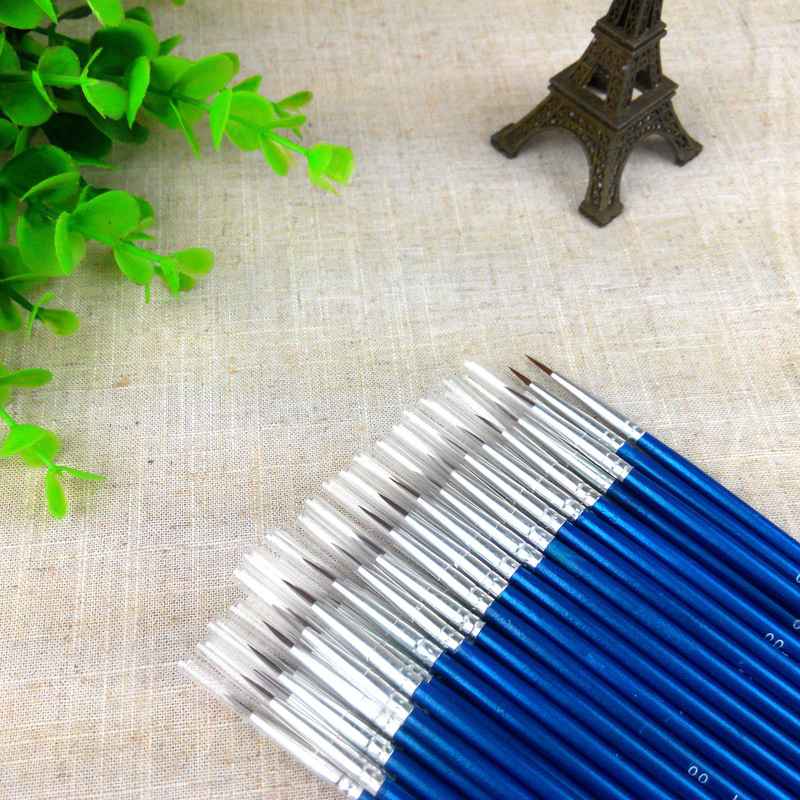 Hot Sale Tiny Liner Acrylic Nail Art Tips Design Pen Painting Drawing Brush Diy Drop Shipping