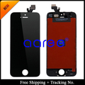 Free Shipping + Tracking No. 100% tested For iPhone 5 LCD screen display digitizer Assembly - White/Black
